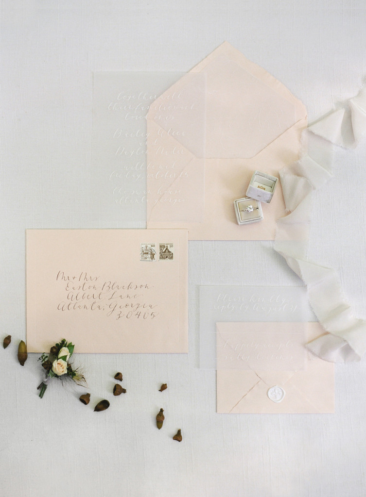 Refined Elegance at Swan House - Flourish Calligraphy