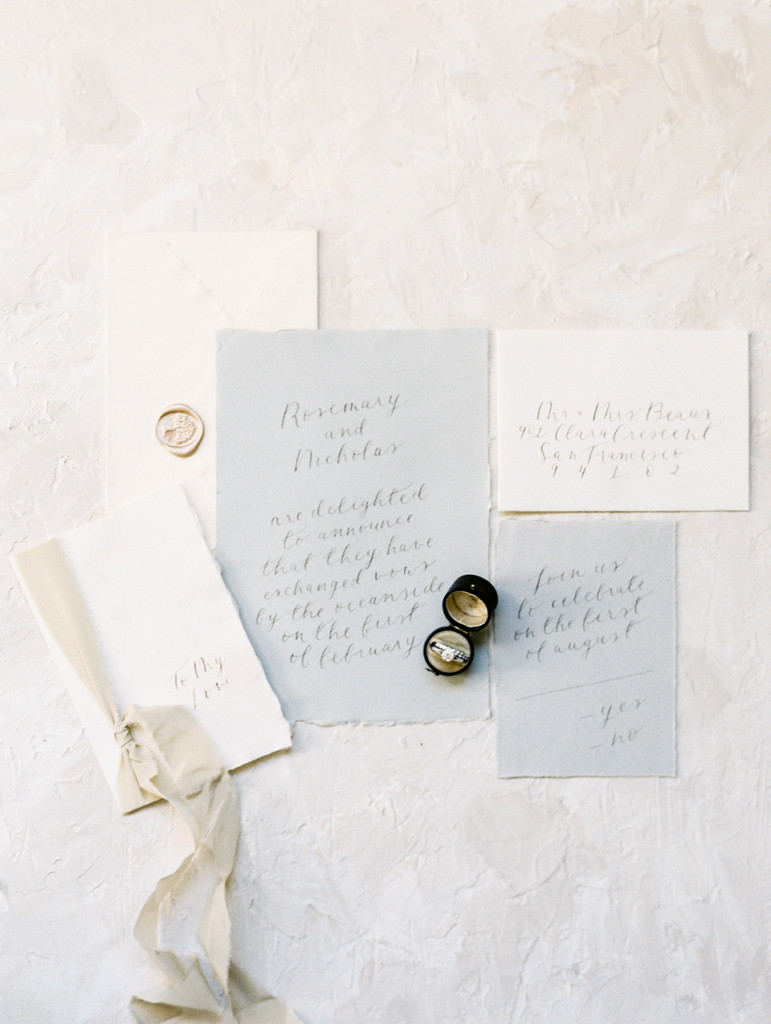 City Hall Elopement - Flourish Calligraphy