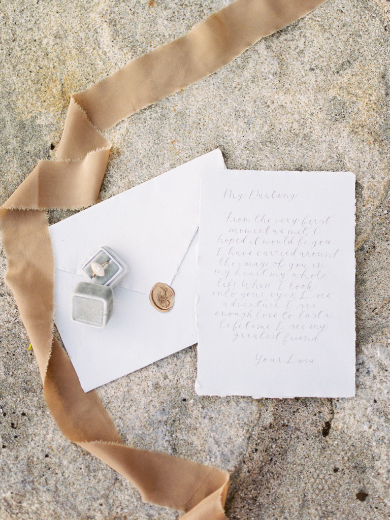 Seaside Elopement - Flourish Calligraphy