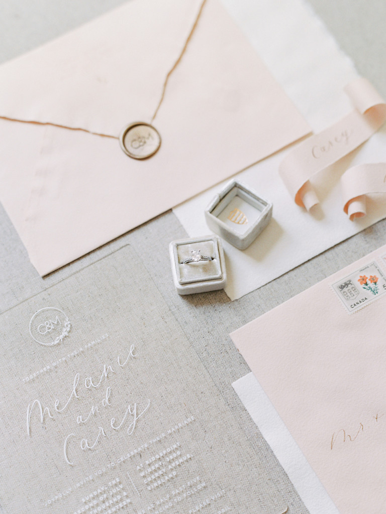 Melanie & Carey's Vineyard Wedding - Flourish Calligraphy