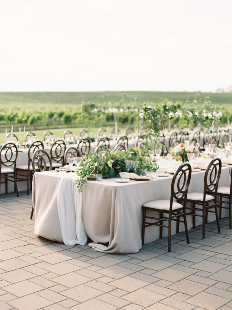 Melanie & Carey's Vineyard Wedding - Flourish Calligraphy