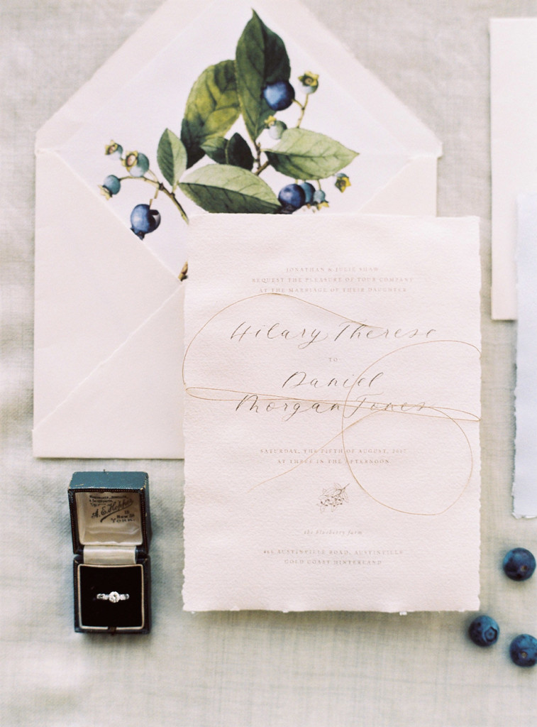 Hilary & Daniel - Flourish Calligraphy