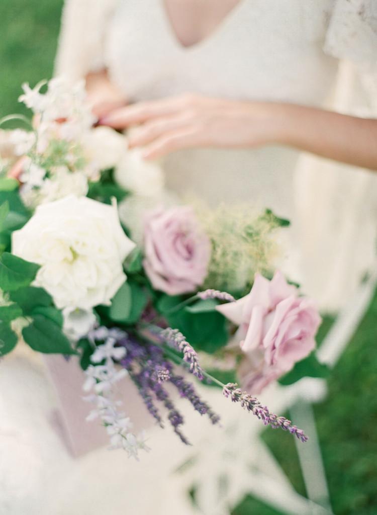 Lavender Fields - Flourish Calligraphy