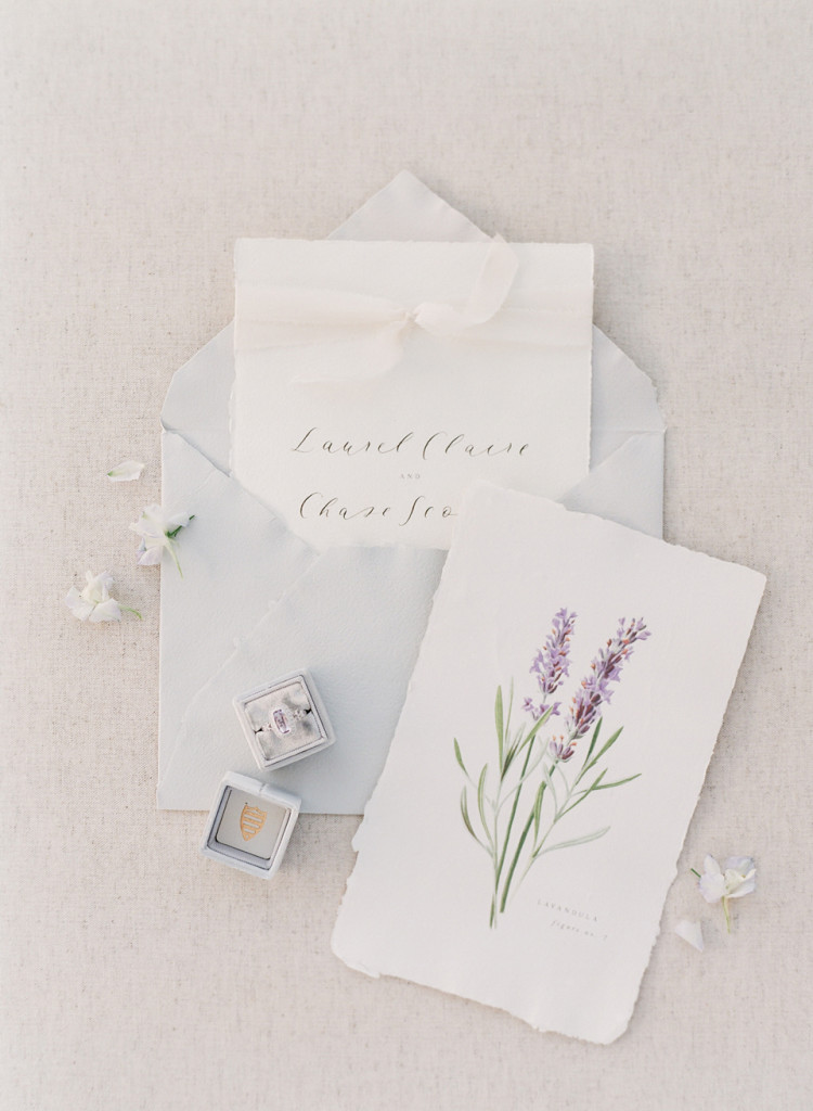 Lavender Fields - Flourish Calligraphy