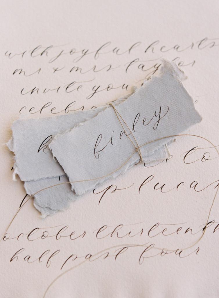 A Desert Love - Flourish Calligraphy