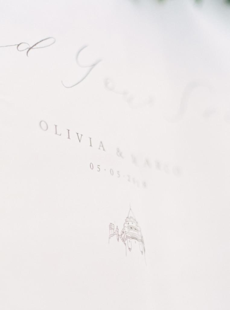 Olivia & Marco - Flourish Calligraphy