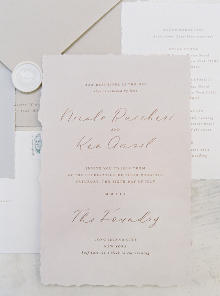 Nicole & Ken - Flourish Calligraphy
